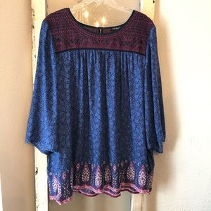 Lucky Brand Blouse Size 2X